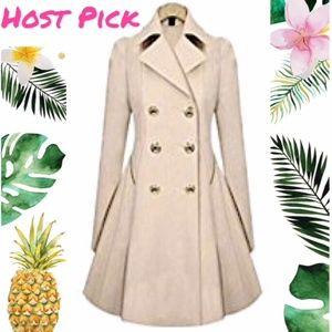 Jackets & Blazers - Women, Long Trench Coat Jacket, XL & XXL